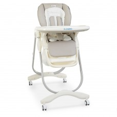 Детский стульчик для кормления El Camino M 3236 Dolce Smart Gray, серый