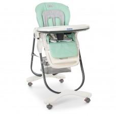 Детский стульчик для кормления El Camino M 3236 Turquoise, бирюзовый