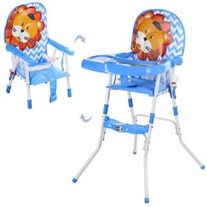 Детский стульчик для кормления Bambi GL 217С-212, голубой