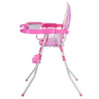 Детский стульчик для кормления Bambi GL 217С-909, розовый
