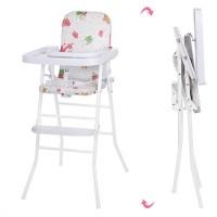 Детский стульчик для кормления Bambi HB 303-11, белый
