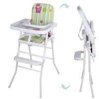 Детский стульчик для кормления Bambi HB 303-5, зеленый