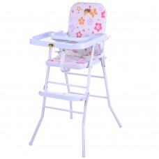 Детский стульчик для кормления Bambi HB 303-8, розовый