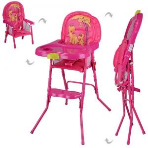 Детский стульчик для кормления Bambi HC100A PINK, розовый