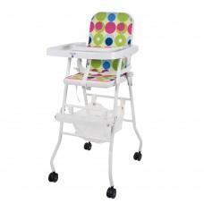 Детский стульчик для кормления Bambi M 0397-2, белый