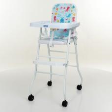 Детский стульчик для кормления Bambi M 0397-4, голубой