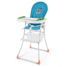 Детский стульчик для кормления Bambi M 0404-1, синий