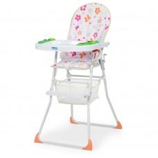 Детский стульчик для кормления Bambi M 0404-2, белый