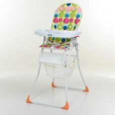 Детский стульчик для кормления Bambi M 0404C-1, зеленый