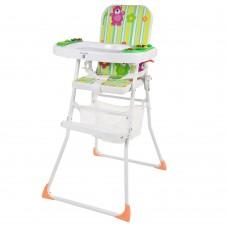 Детский стульчик для кормления Bambi M 0405-1, зеленый