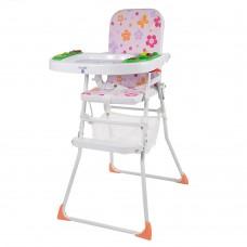 Детский стульчик для кормления Bambi M 0405-2, розовый
