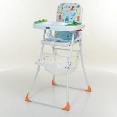 Детский стульчик для кормления Bambi M 0405-4, голубой