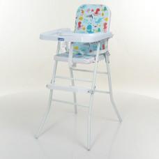 Детский стульчик для кормления Bambi M 0630-4-2, голубой