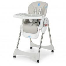 Детский стульчик для кормления Bambi M 3216-11, серый