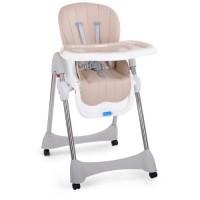 Детский стульчик для кормления Bambi M 3216-13-S, бежевый