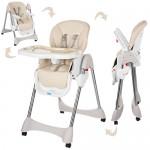 Детский стульчик для кормления Bambi M 3216-13, бежевый