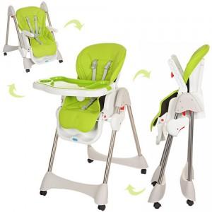 Детский стульчик для кормления Bambi M 3216-2-5, салатовый
