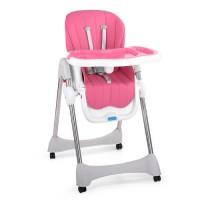 Детский стульчик для кормления Bambi M 3216-8-S, розовый