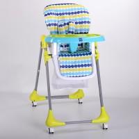 Детский стульчик для кормления Bambi M 3233-10, голубой