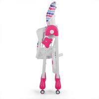 Детский стульчик для кормления Bambi M 3233-11, розовый
