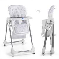 Детский стульчик для кормления Bambi M 3233-13, серый
