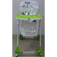 Детский стульчик для кормления Bambi M 3233-14, зеленый