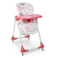Детский стульчик для кормления Bambi M 3233-17, розовый