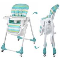 Детский стульчик для кормления Bambi M 3233-4, мятный