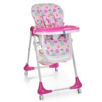 Детский стульчик для кормления Bambi M 3233-8, розовый