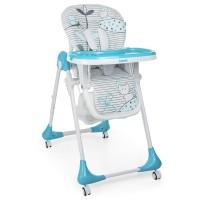 Детский стульчик для кормления Bambi M 3233 Cat Blue, голубой