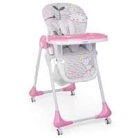 Детский стульчик для кормления Bambi M 3233 Cat Pink, розовый
