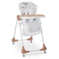 Детский стульчик для кормления Bambi M 3233 Cat Toffee, бежевый