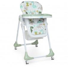 Детский стульчик для кормления Bambi M 3233 Dino Pine Green, зеленый