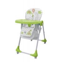 Детский стульчик для кормления Bambi M 3233 Elephant Green, зеленый