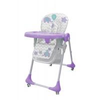 Детский стульчик для кормления Bambi M 3233 Elephant Lavender, фиолетовый