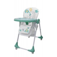 Детский стульчик для кормления Bambi M 3233 Elephant Mint, мятный