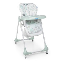 Детский стульчик для кормления Bambi M 3233 Lamb Light Blue, голубой