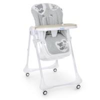 Детский стульчик для кормления Bambi M 3233 Teddy Gray, серый
