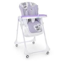Детский стульчик для кормления Bambi M 3233 Teddy Lilac, сиреневый