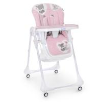 Детский стульчик для кормления Bambi M 3233 Teddy Pink, розовый