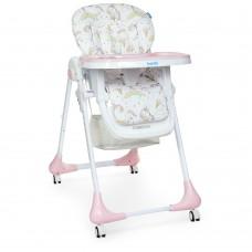 Детский стульчик для кормления Bambi M 3233 Unicorn Pink, розовый