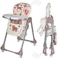 Детский стульчик для кормления Bambi M 3234-2, белый