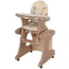 Детский стульчик-трансформер для кормления BAMBI M 3267-13, бежевый