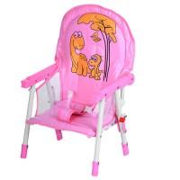 Детский стульчик для кормления BAMBI M 3508-8, розовый