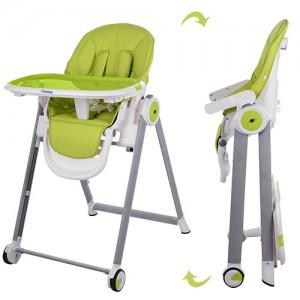 Детский стульчик для кормления El Camino M 3550-5 MOON, салатовый