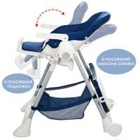 Детский стульчик для кормления Bambi M 3569-4, синий