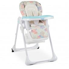 Детский стульчик для кормления Bambi M 3890 Fusion Arctic для кормления, голубой