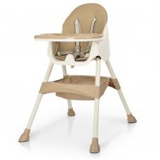 Детский стульчик для кормления Bambi M 4136 Beige, бежевый