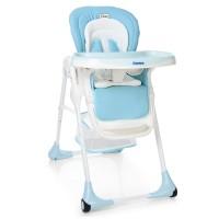 Детский стульчик для кормления El Camino ME 1001-12 PUNTO, голубой