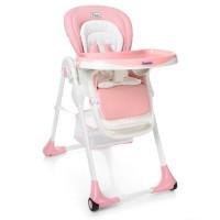 Детский стульчик для кормления El Camino ME 1001-8 PUNTO, розовый